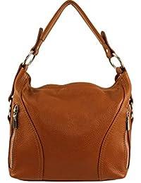 4ef65847b0 Sac à main cuir Nany Italie - Camel Foncé - Sac cuir nany|sac a main nany|sac  femme nany|sa cuir vachette…