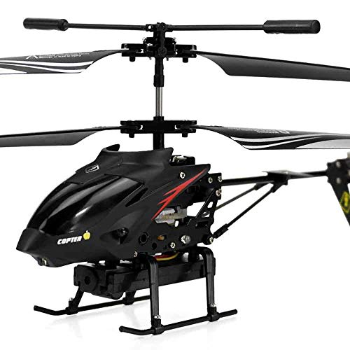 Braumz RC Helicopter, Remote Control Helicopter Mit Gyro Und LED Light Toy Mit Fernbedienung Indoor Für Kinder Und Erwachsene Anfänger Geschenk