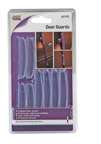 Autocare AC992 Kantenschutz für Autotüren, selbstklebend, transparent, 8 Stück