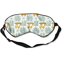 Sleep Eye Mask Lioness and Palms Lightweight Soft Blindfold Adjustable Head Strap Eyeshade Travel Eyepatch E12 preisvergleich bei billige-tabletten.eu