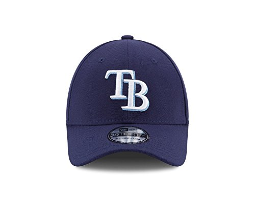 New Era Tampa Bay Rays Stretch Fit Classic MLB Cap Game, M/L (Tampa Bay Rays Baseball)