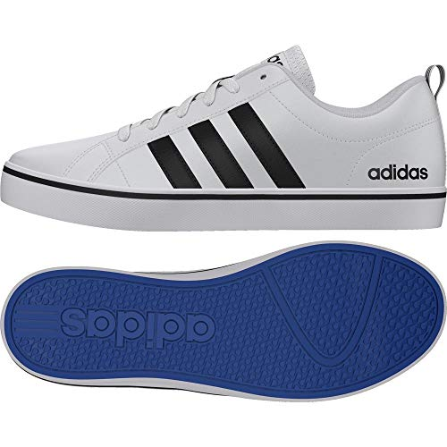 promo code 49fc3 27736 adidas Men s Pace Vs Sneakers, White (Footwear White Core Black Blue)