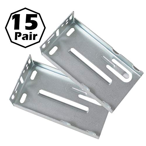 gobrico 22100LB. Vollauszug Kugellager Schublade Folien Soft Close Schiene Läufer schwere Pflicht Möbel Hardware