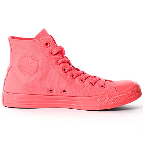 Converse Chuck Taylor All Star Adulte Shearling Hi, Baskets mode mixte adulte Orange/noir