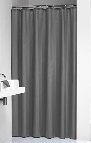 Sealskin Textil Duschvorhang Madeira, Farbe: Grau, B x H: 180 x 200 cm