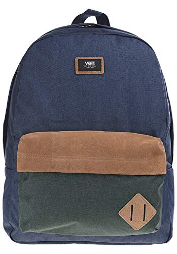 Vans Old Skool Ii Backpack Zaino Casual, 39 cm, 22 liters, Multicolore (DRESS BLUES-DARKEST SPRUCE)