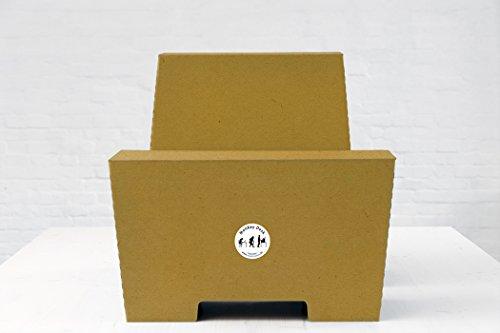 ROOM IN A BOX | MonKey Desk L/N: Faltbares ergonomisches Stehpult, praktischer Ständer für Laptop, PC, Tablet und Monitor, klappbarer Standing Desk für den Schreibtisch - 2