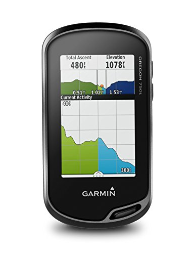 Garmin GPS Oregon 750T - Nero