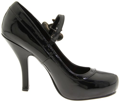 Pleaser Cutie10/bpt Damen Pumps, Schwarz (Black), 38 EU -
