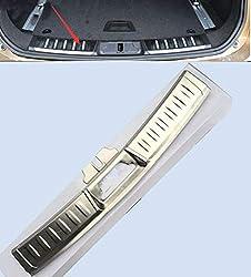 FidgetGear 2 Stück Edelstahl Ladekantenschutz für Jaguar F-Pace X761 2015-17