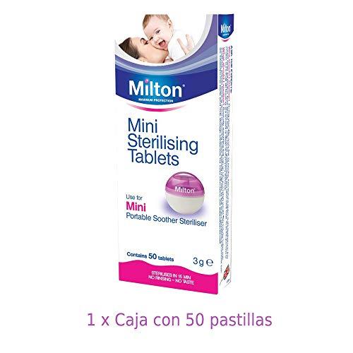 Milton Mini Tabletas Esterilizadoras - Pastillas
