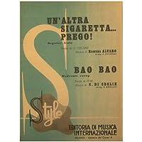 Un'altra sigaretta prego ( beguine lenta ) - Bao bao ( moderato swing )
