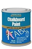 Rust-Oleum Chalkboard Paint Blue Matt 250ml Toy Safe Quick -Drying Formulation
