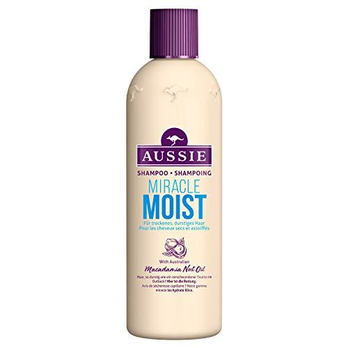 Aussie Miracle Moist Shampoo für Durstiges Haar, 300ml