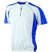 Maillot ciclista 1/4 zip, mangas cortas Maillot ciclista Hombre T-shirt
