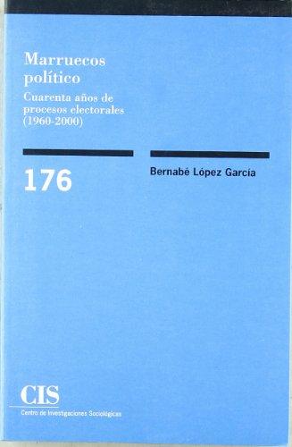 Marruecos político: Cuarenta años de procesos electorales (1960-2000) (Monografías)