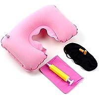 u. kaufen 5in 1Travel Set aufblasbares U-Form Reisen Hals Luft Kopfkissen + Augenklappe + Ohrstöpsel + Tragetasche... preisvergleich bei billige-tabletten.eu