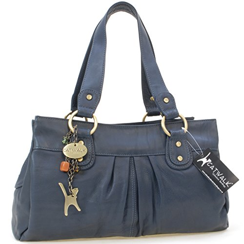 sac-a-main-en-cuir-bella-signe-catwalk-collection-bleu