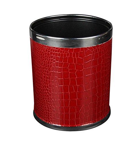bidoni-spazzatura-ufficio-trash-bin-doppio-cestino-metallo-red