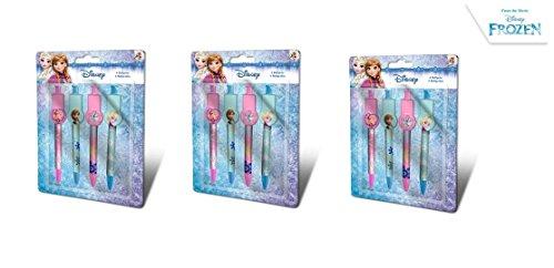 elsa Frozen 12 Penne Ottima Idea Regalo Festa Compleanno Bambine
