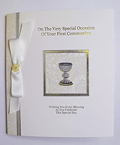 On Your First 1st Holy Communion Luxury Card Gift Blessing