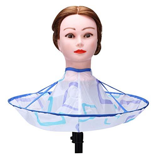 WELQUN Schürze Aprons Friseur Cut Cape Antistatic Hairdressing Wrap Für Haarschneiden Wasserdicht Friseur Haarschnitt Kleid Schürze (Hausgemachte Kostüm Frauen Niedlich)