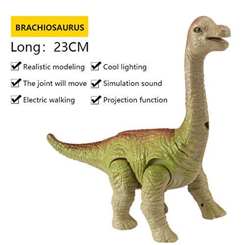 Mitlfuny Auto-Modell Plüsch Bildung Squishy Spielzeug aufblasbares Spielzeug im Freien Spielzeug,Kinder elektrischer Dinosaurier spielt Lumineszenzton-Simulations-Tierplastikspielzeug