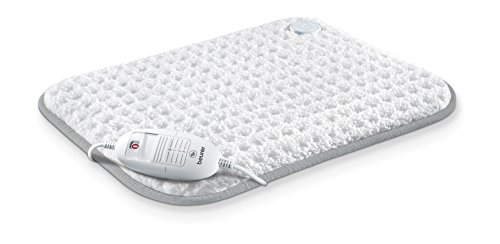 Beurer HK 42 Supercosy Heizkissen (Besonders weiche Superflausch-Oberfläche mit 3 Temperaturstufen für Rücken und Nacken)
