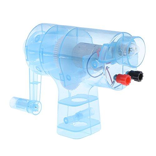 Homyl Tragbare manuelle Stromgenerator-kompakte Glühlampe für das - Experiment Glühbirne