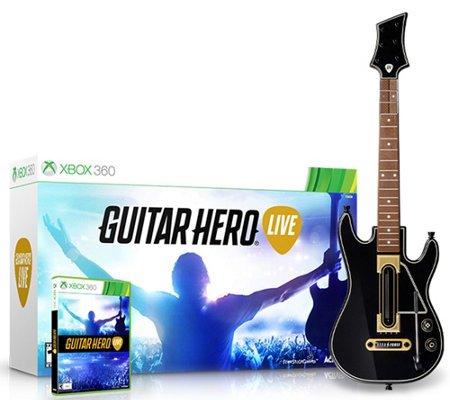 Guitar Hero Live Bundle (Xbox 360) Gitarre und Spiel (Spiel 360 Bundle Xbox)