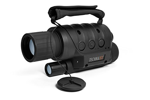 Technaxx 4560 Nachtsichtgerät TX-73 mit Foto-Videofunktion, 4-fach Zoom schwarz