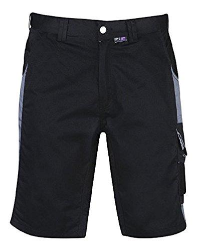 PKA BestWork Shorts Arbeitsshorts Gr. 46 schwarz/grau 46,Schwarz/Grau