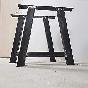 2x Tischbeine, Esstischgestell Tischuntergestell Tischkufen Tischbein A8080