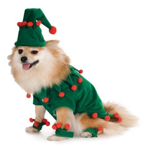 m Hund (Elf Kostüm Für Hunde)
