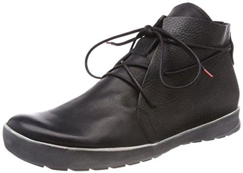 Think! Zagg_282604, Desert Boots Homme Noir (Sz/kombi 09)
