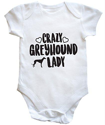 hippowarehouse-crazy-greyhound-lady-body-bodys-pijama-ninos-ninas-unisex