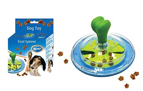 Duvo+ Dogtoy Treat Spinner - Gioco d'apprendimento per cani, realizzato in plastica
