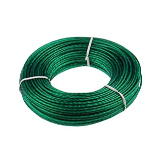 Keim 535007Steel Rope Washing Line 50m Plastic 17x 3x 3cm Green