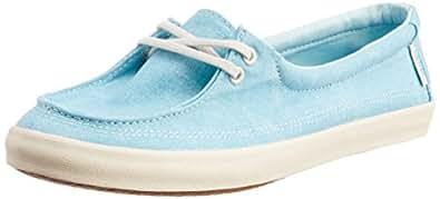 Vans Women's Rata lo Washed Canvas Capri Canvas Sneakers  - 7 UK