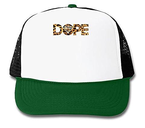 Dope Diamond Leopard Texture Graphic Design Trucker Cap