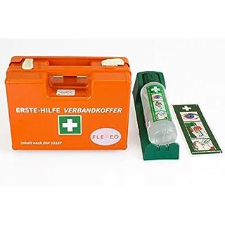 FLEXEO-Erste-Hilfe-Koffer-Set DIN 13 157 (inkl. Cederroth Augenspülstation)