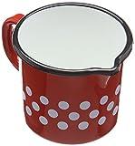 Best Messbecher mit Griff, Rot/Weiß gepunktet, 1,5 l
