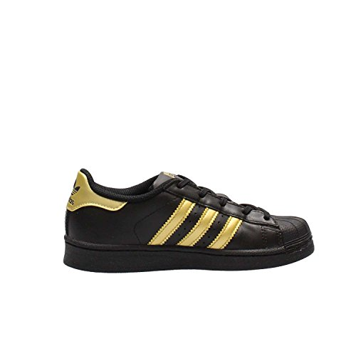 Jr Noir Schuhe Gold Schuhe Superstar Superstar Black Black SBnWvaB