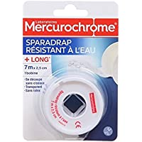 MERCUROCHROME Sparadrap waterproof - 7 m x 2,5 cm preisvergleich bei billige-tabletten.eu