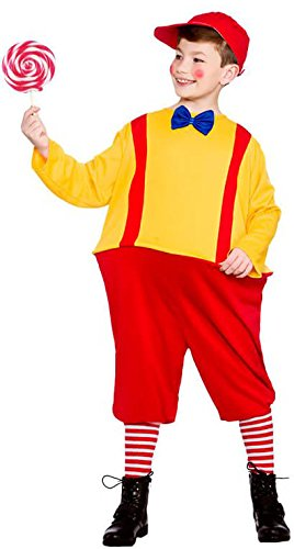 Dee Tweedle Kostüm Dum - Boys Storybook Twin Red Yellow Fancy Dress Up Party Costume Halloween Outfit