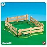PLAYMOBIL® 7899 - Holzzaun braun mit Wiese