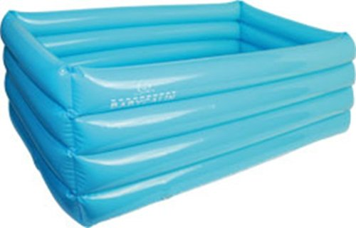 Babycalin - Baignoire gonflable 38x71x24 cm - Bleu