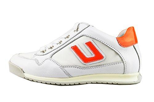 cesare-paciotti-4us-sneakers-boy-white-leather-orange-textile-ag110-29-eu