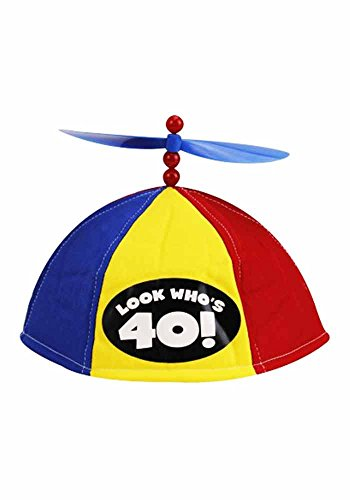 Mr.Giggelz Propeller Kappe - Look Whos 40 - Propeller Beanie