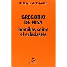 Homilías sobre el Eclesiastés (Biblioteca de Patrística)